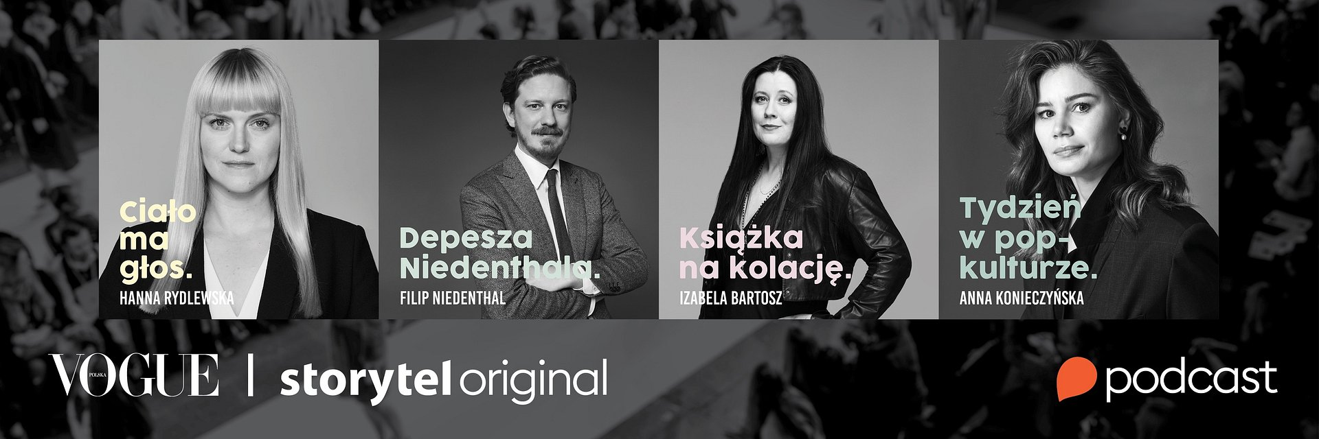 "Podcasty ""Vogue Polska"" w Storytel"
