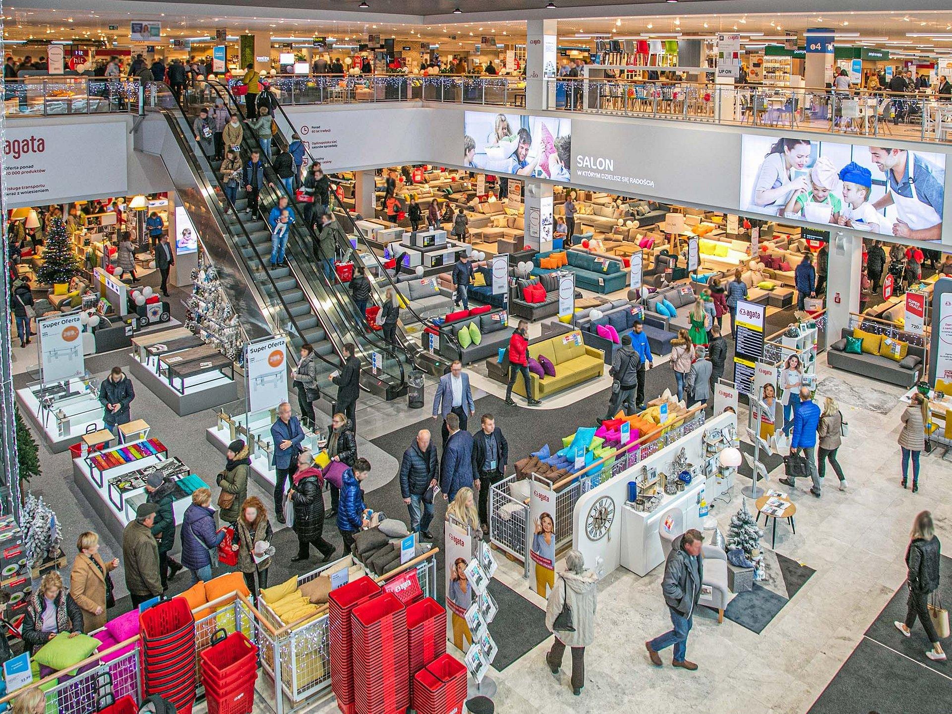 Rekordowa frekwencja na otwarciu nowego Salonu Agata w Kielcach