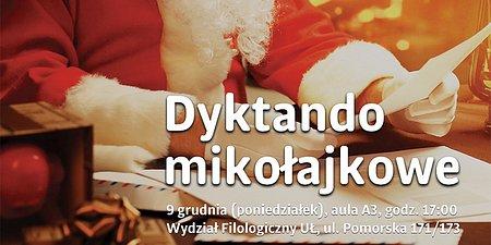 Dyktando Mikołajkowe UŁ 2019