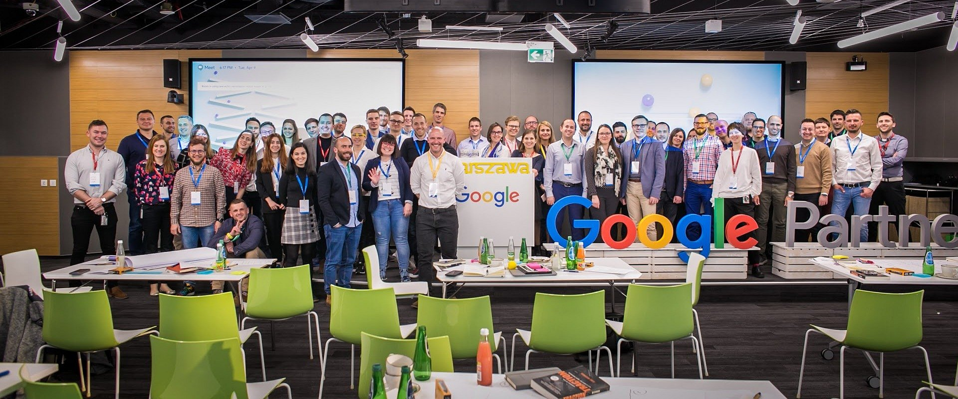 Bluerank inspirowany przez Google