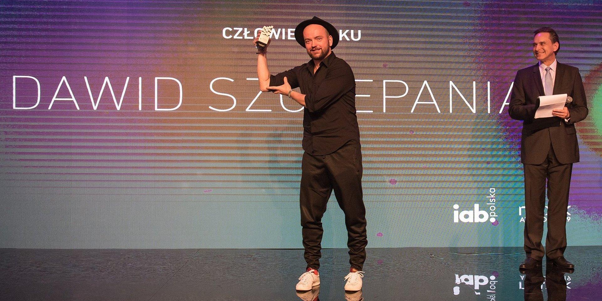 Dawid Szczepaniak Człowiekiem Roku MIXX Awards 2019