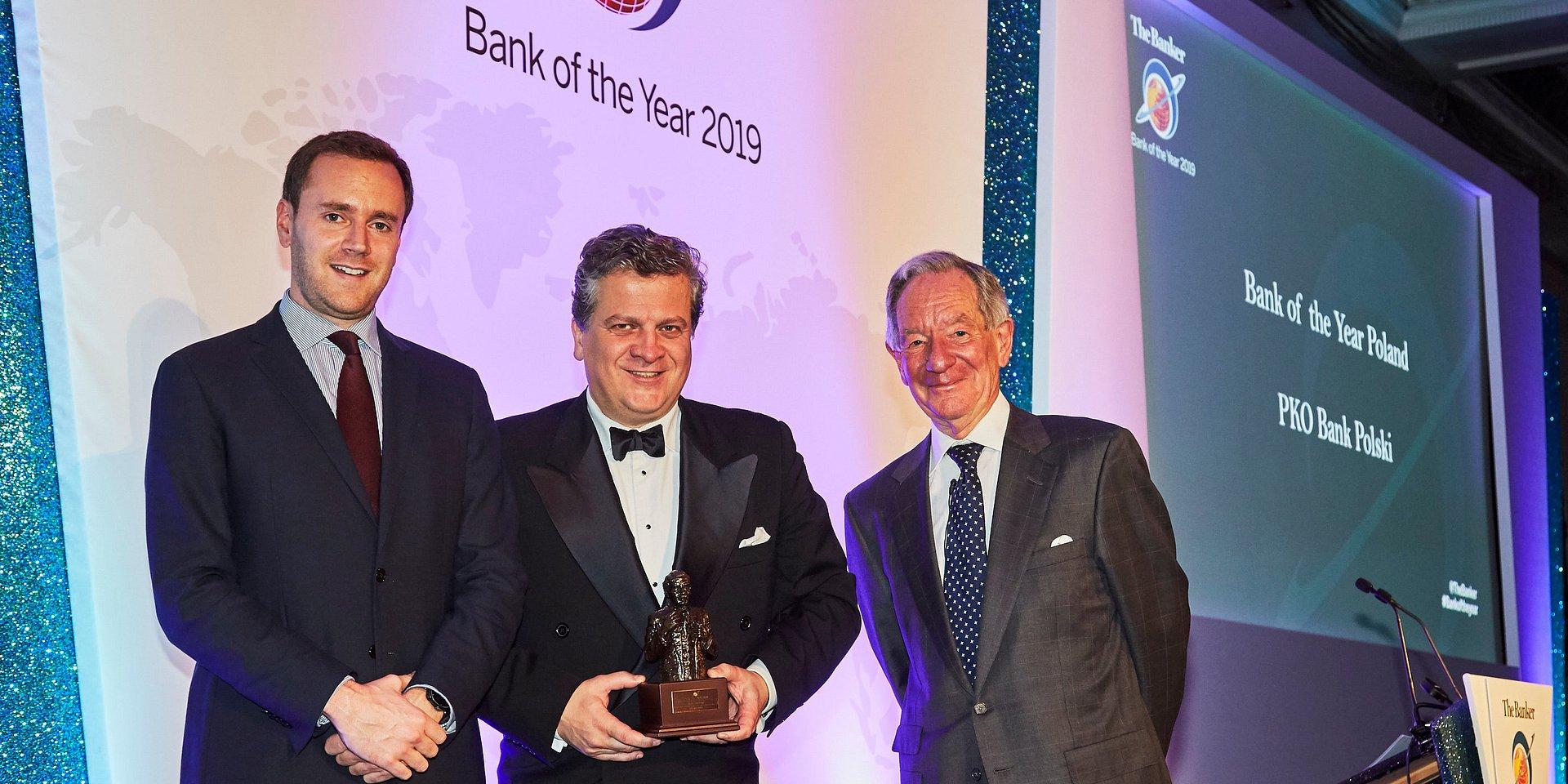 """PKO Bank Polski z prestiżowym tytułem """"Bank of the Year 2019"""""""