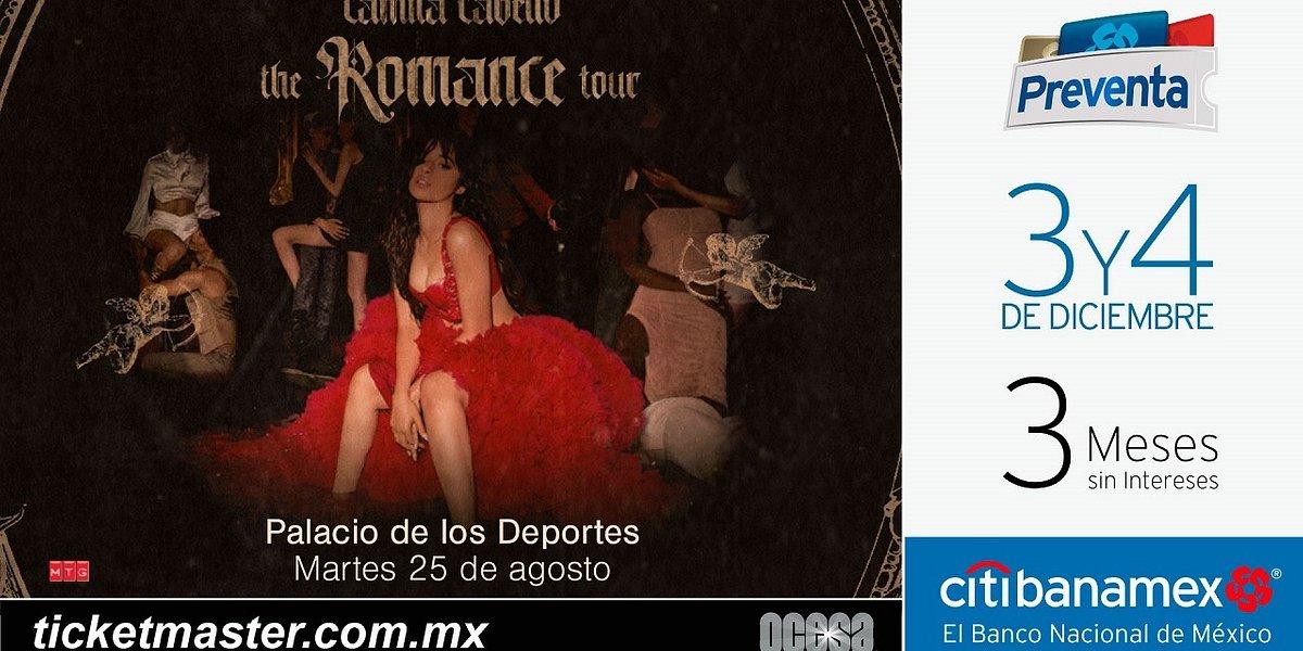 CAMILA CABELLO ANUNCIA FECHAS DE THE ROMANCE TOUR EN MÉXICO
