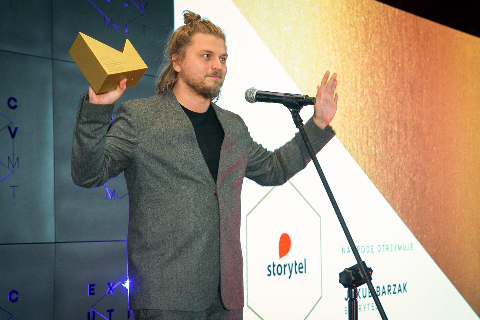 Jakub Barzak ze Storytel Dyrektorem Marketingu Roku, a kampanie marki docenione w konkursie niezależnej kreacji w reklamie - Kreatura 2019!