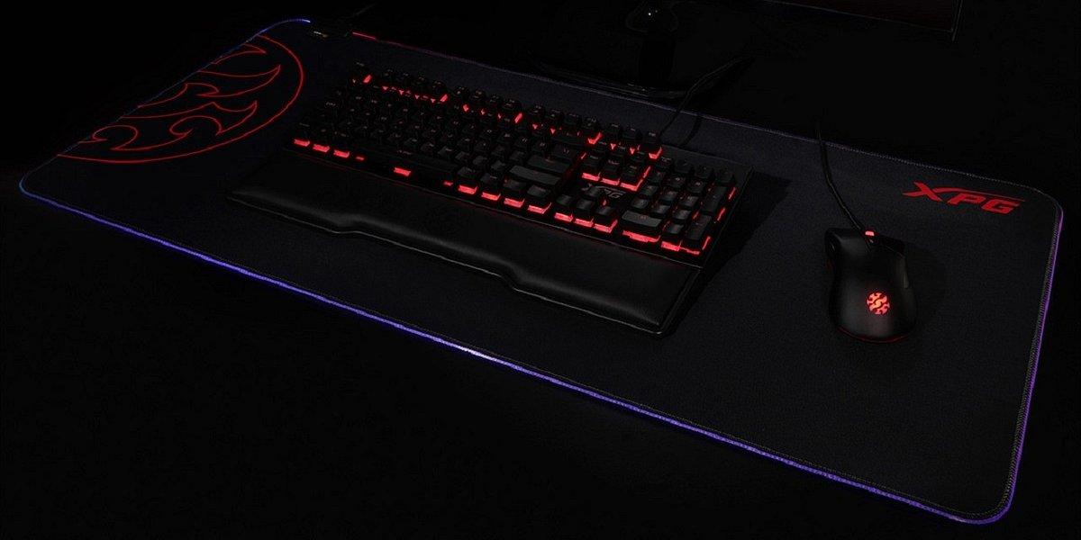 XPG Battleground XL oraz XPG Battleground XL Prime - gamingowe podkładki pod mysz i klawiaturę