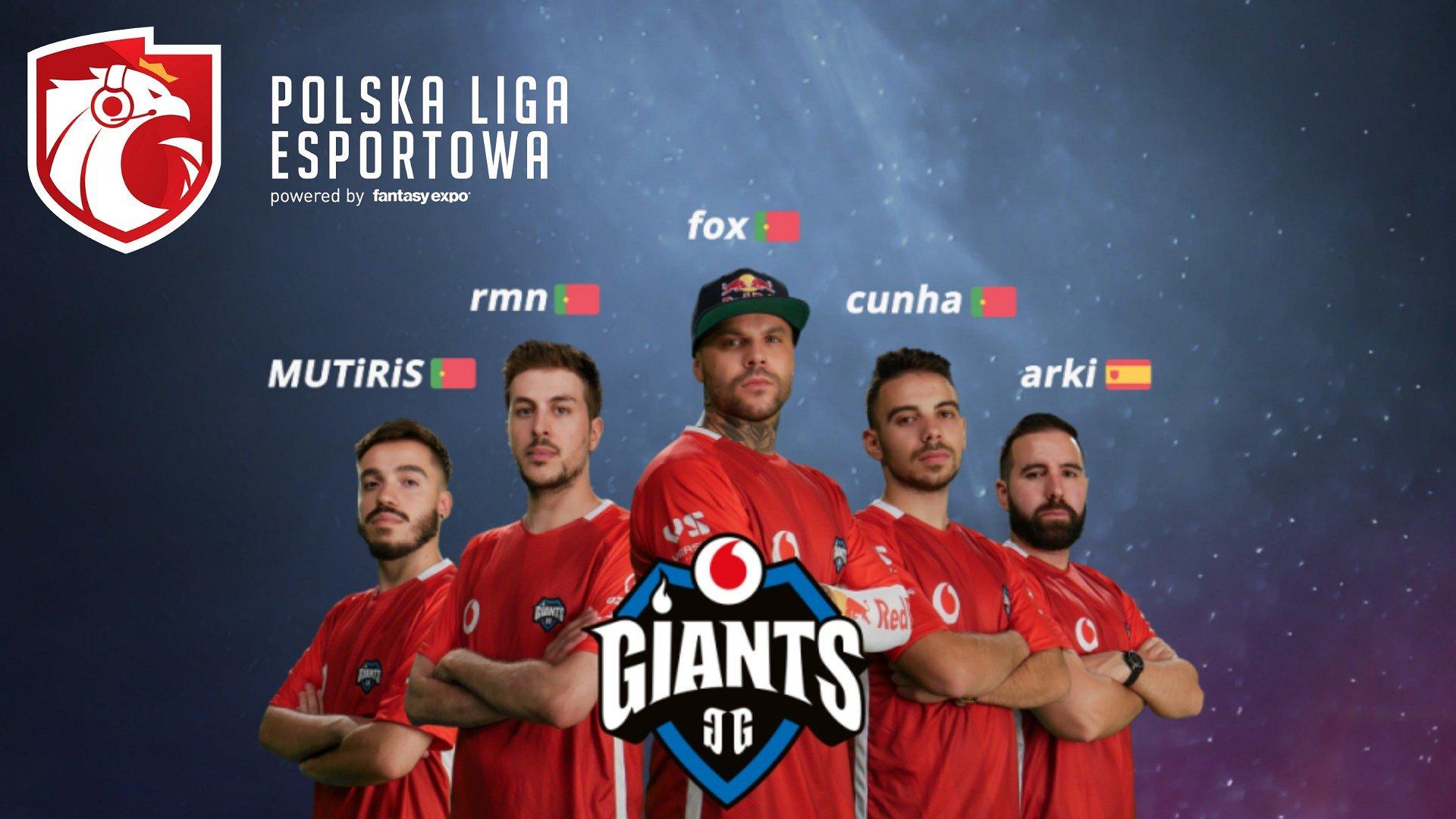 Giants zaproszone na finały Polskiej Ligi Esportowej
