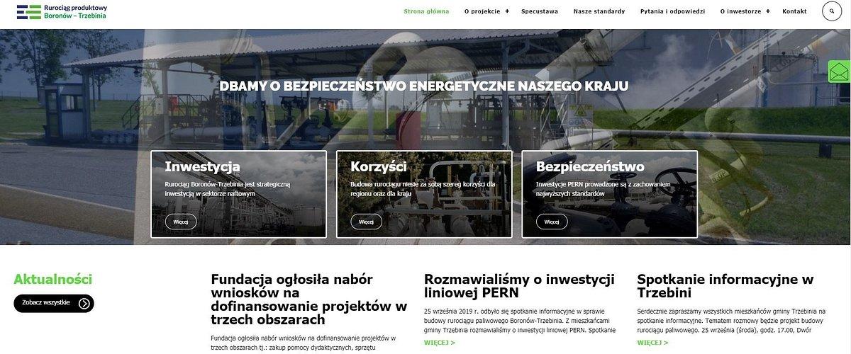 Rusza akcja edukacyjna dla mieszkańców gmin położonych przy trasie rurociągu Boronów - Trzebinia