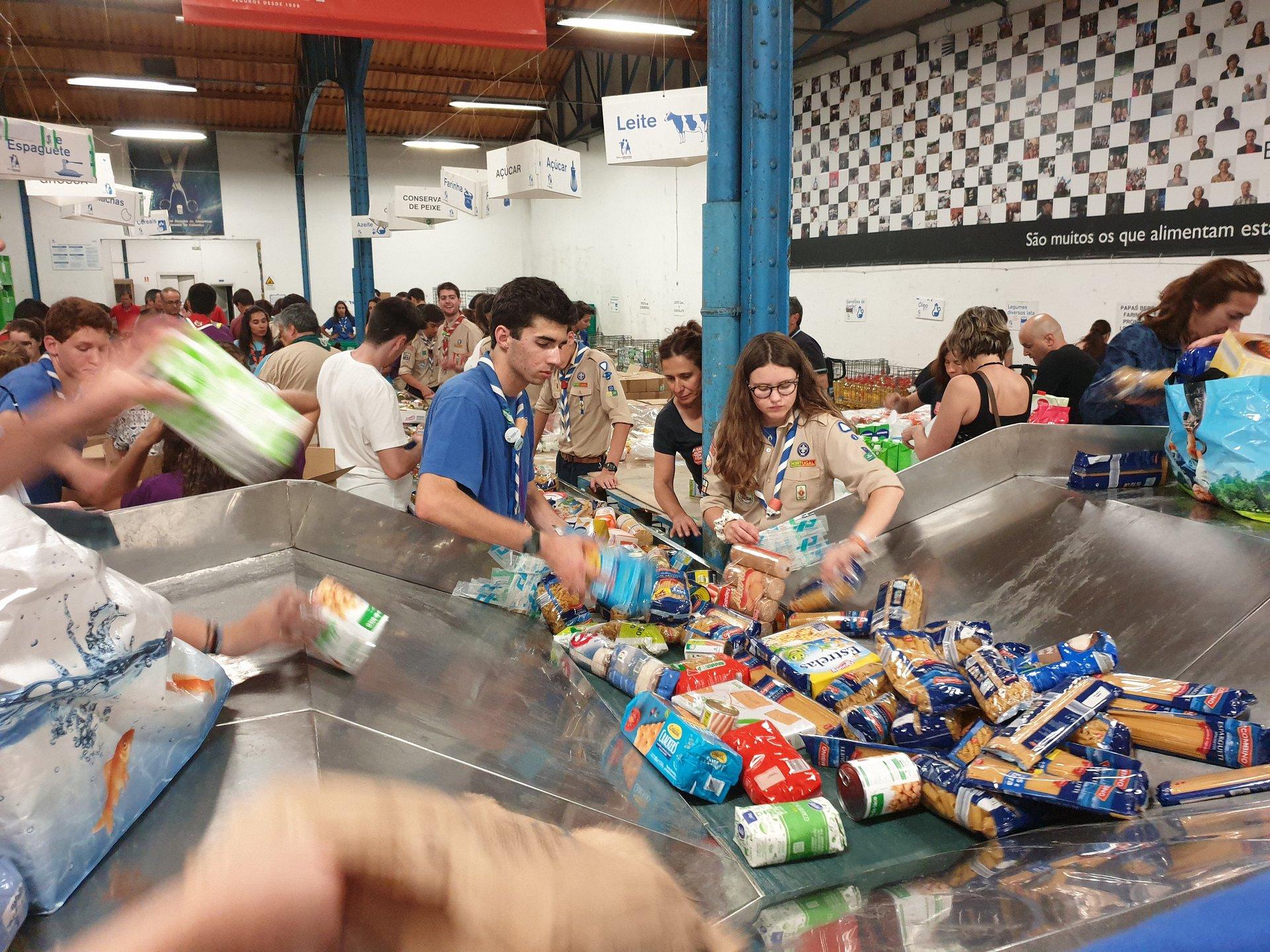 Bancos Alimentares Contra a Fome angariam 2.125 toneladas de alimentos em dois dias