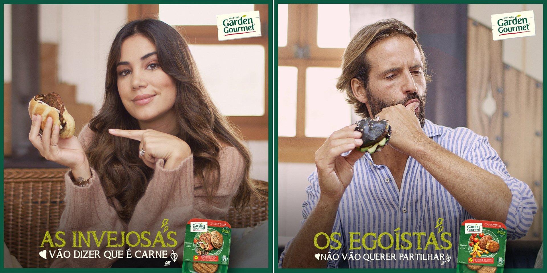 Mia Rose e Ricardo Guedes são o rosto da nova campanha de Garden Gourmet®