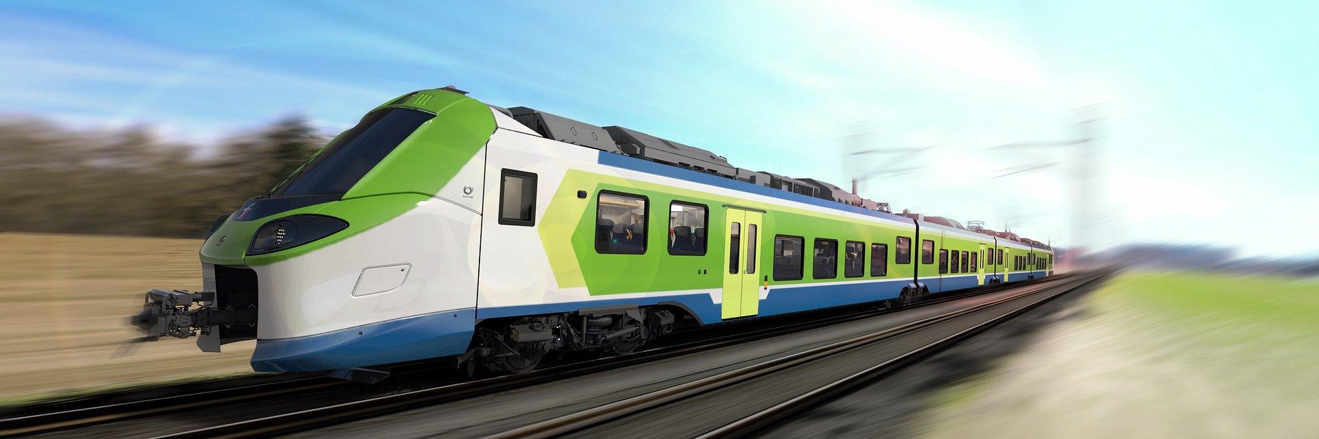 Alstom dostarczy 31 pociągów regionalnych do Lombardii