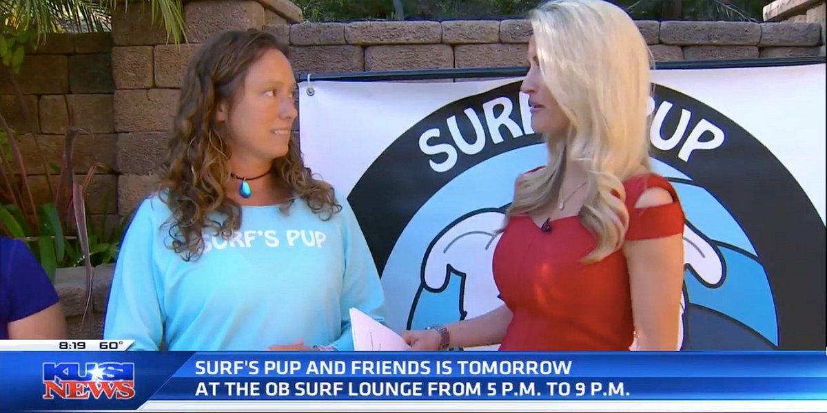 KUSI Features Surf's Pup & Friends Event