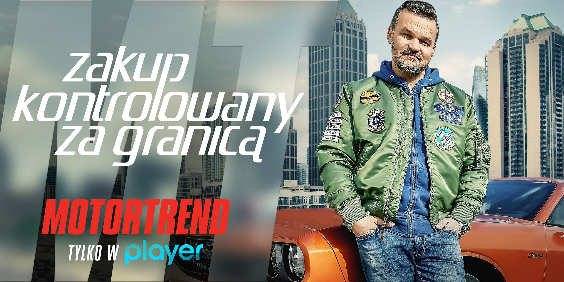 Adam Kornacki pokaże, jak bezpiecznie kupić samochód za granicą. Nowy program już od 15 grudnia tylko na Playerze!