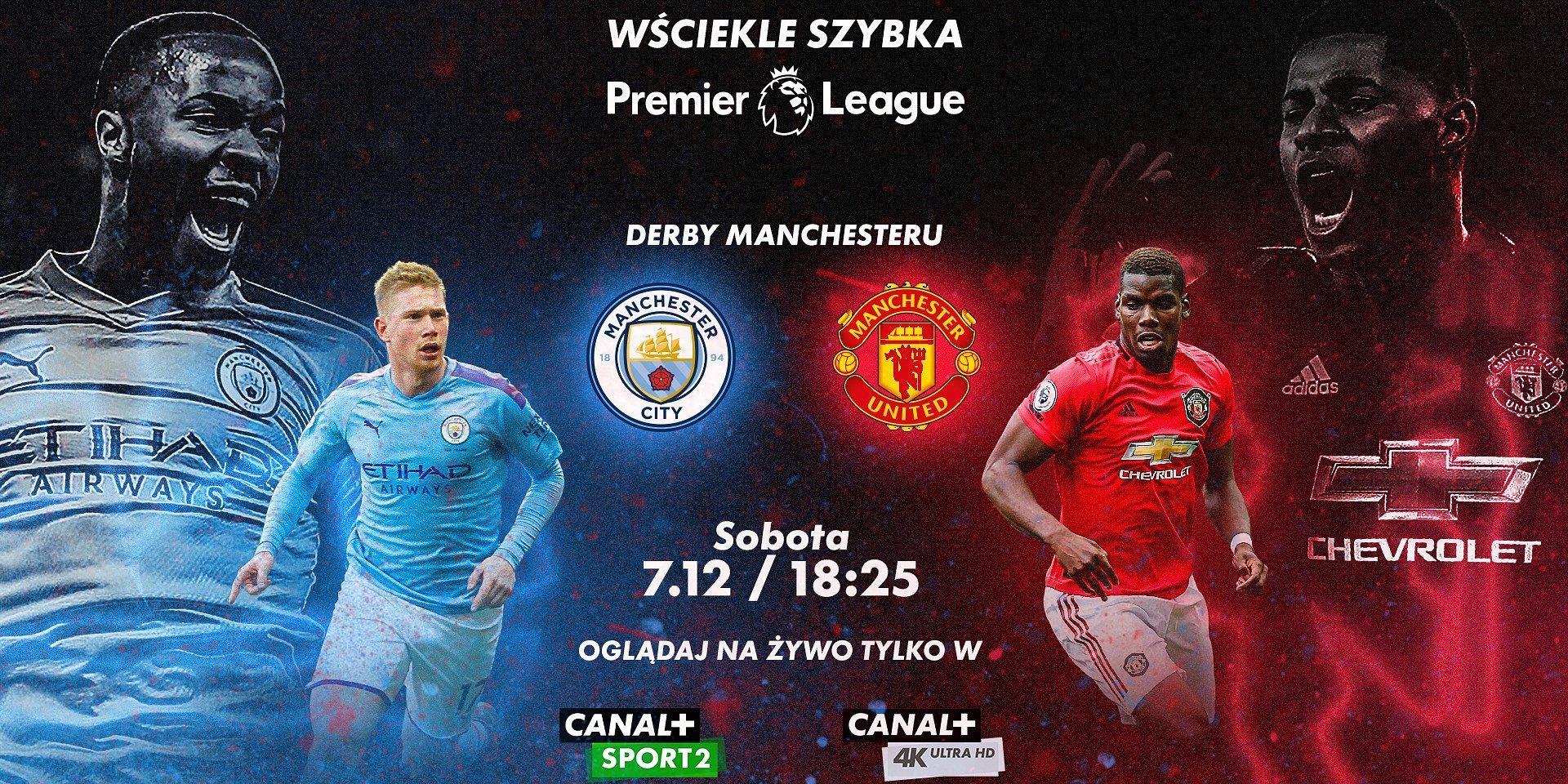 Derby Manchesteru, Piszczek vs Kownacki, hit PKO Ekstraklasy – sportowy weekend w CANAL+