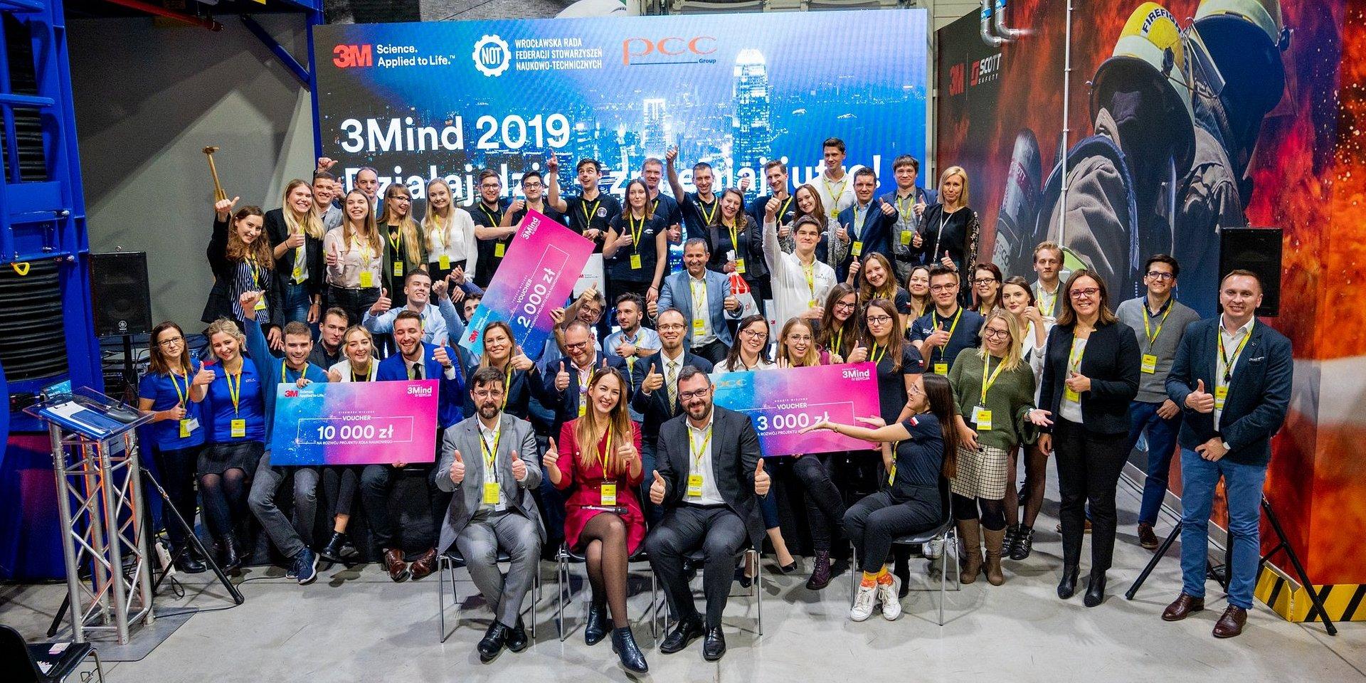Młodzi naukowcy zmieniają świat! Znamy zwycięzców IV Edycji Konkursu 3Mind