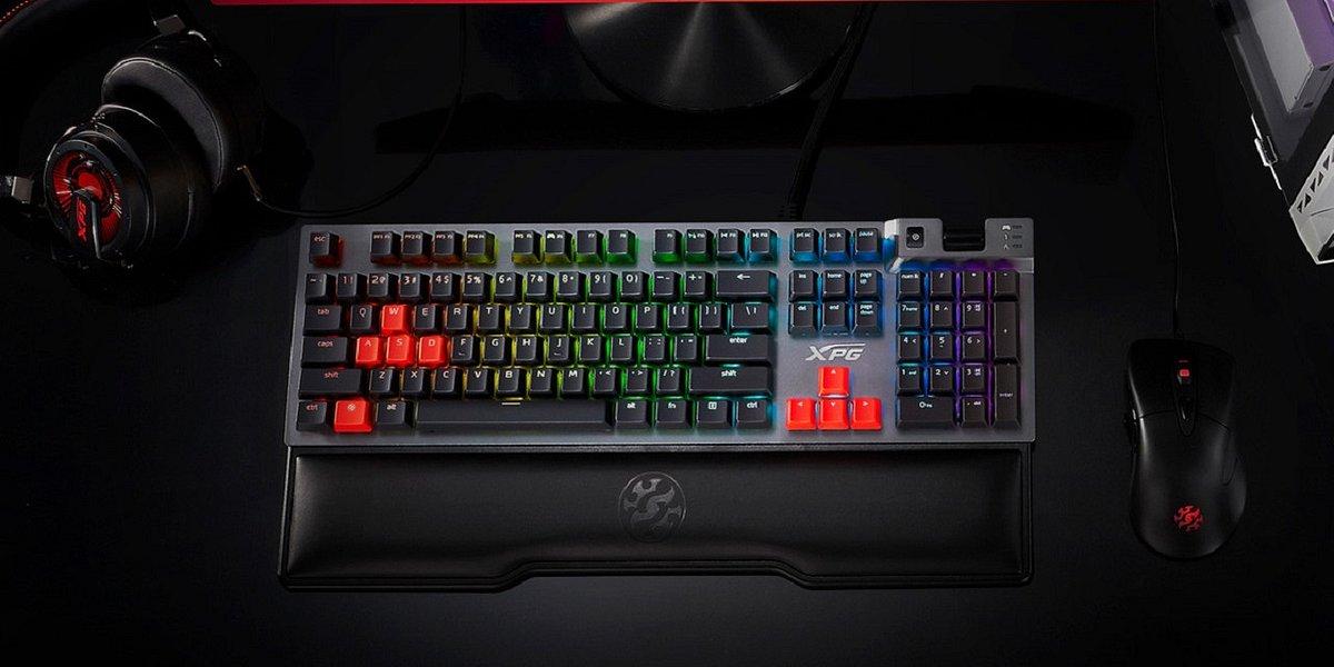 XPG Summoner - klawiatura gamingowa z przełącznikami CHERRY MX oraz podświetleniem RGB