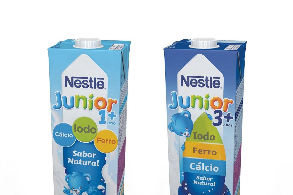 Nestlé Junior agora sem açúcares adicionados