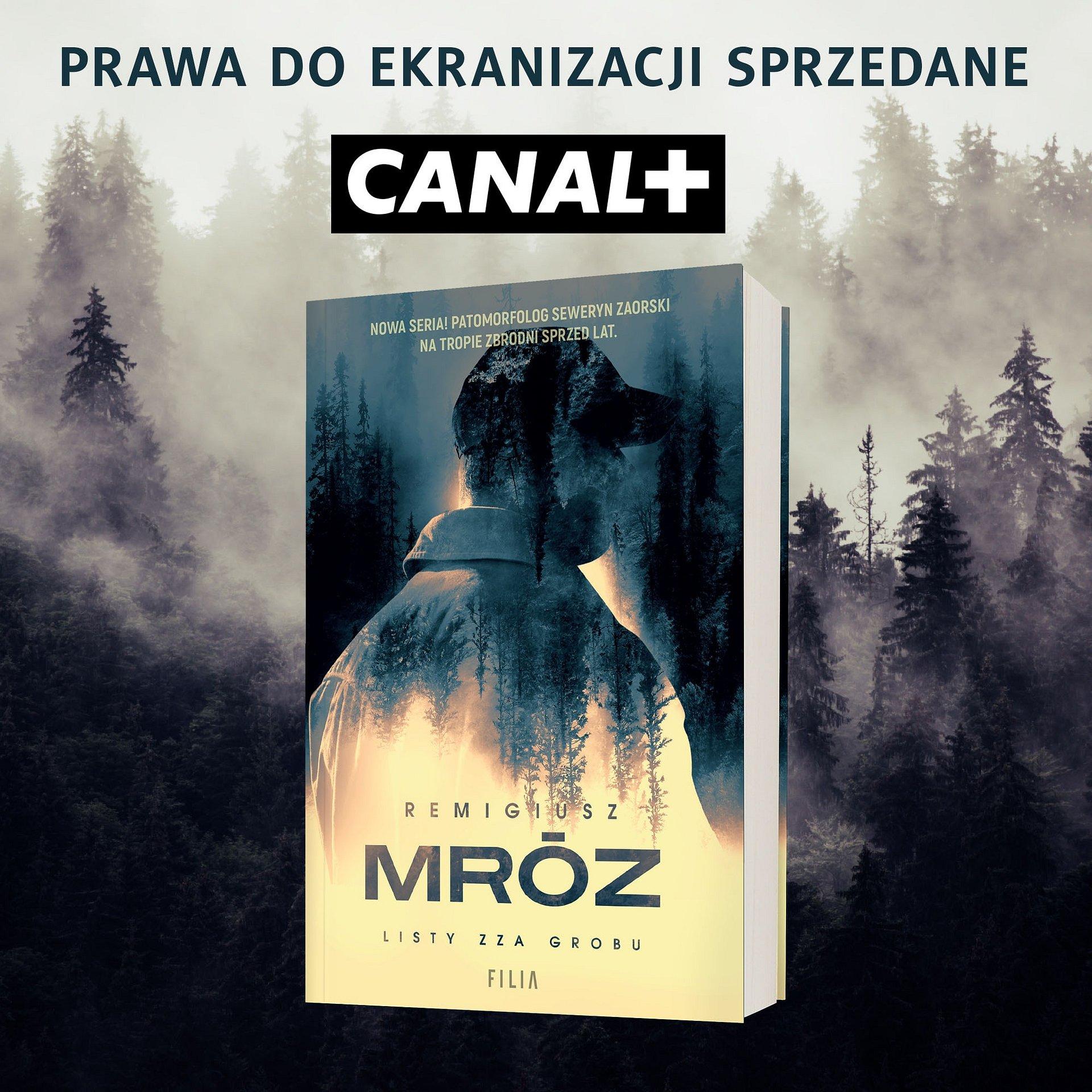 """CANAL+ kupił prawa do ekranizacji """"Listów zza grobu"""" Remigiusza Mroza"""