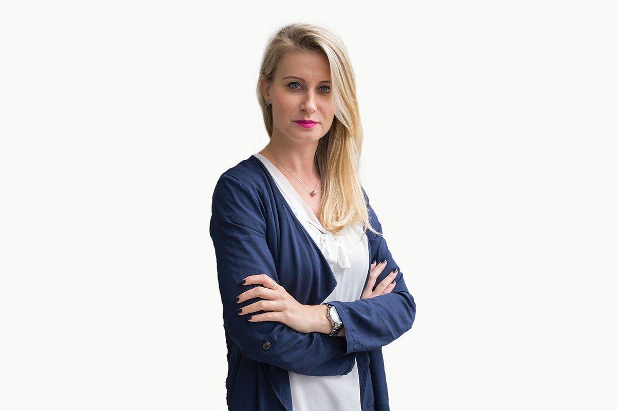 Olga Chełchowska w zespole Walk Creative
