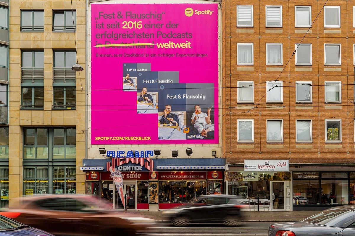 "Spotify begleitet Jahresrückblick ""Wrapped 2019"" mit großer Kampagne"