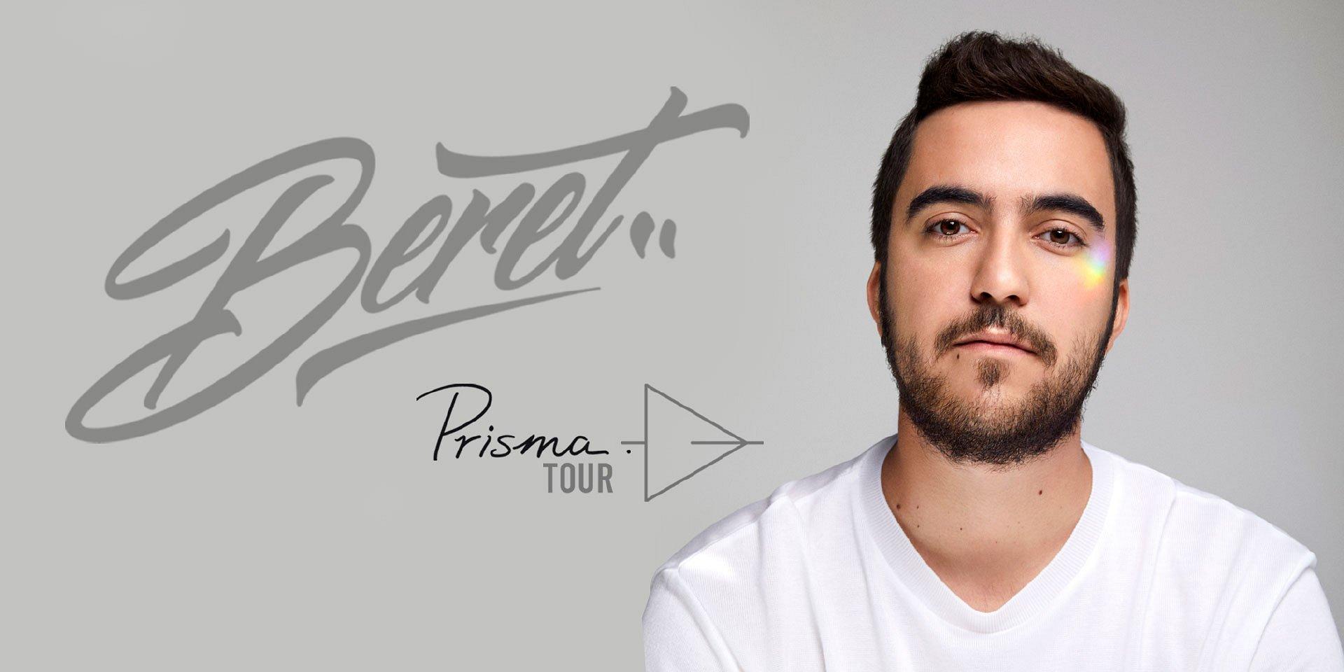 """Beret llegará a México con """"Prisma Tour"""""""