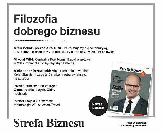 Wywiad z Arturem Pollakiem na temat filozofii innowacyjnej firmy