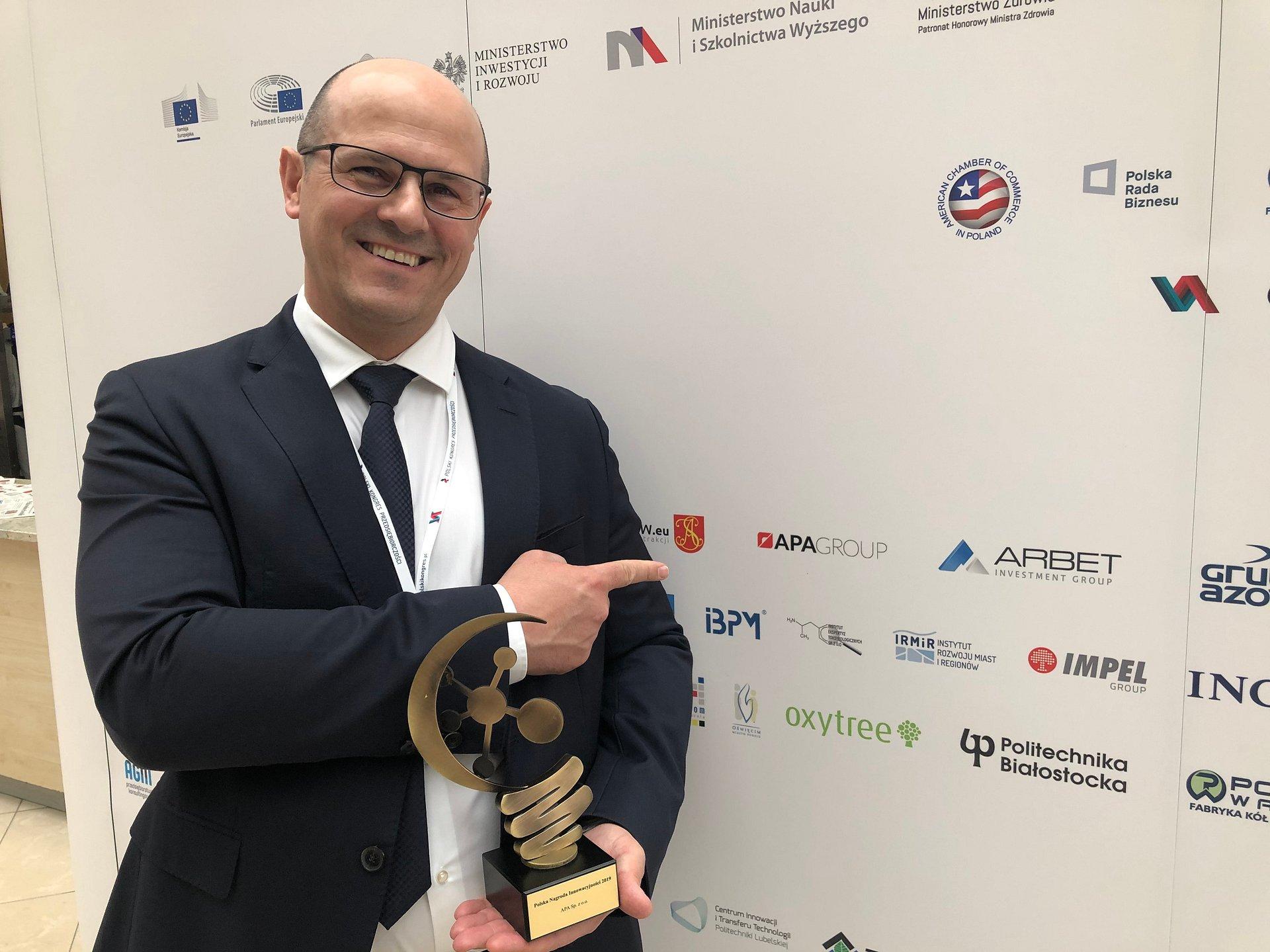 APA Group laureatem Polskiej Nagrody Innowacyjności 2019