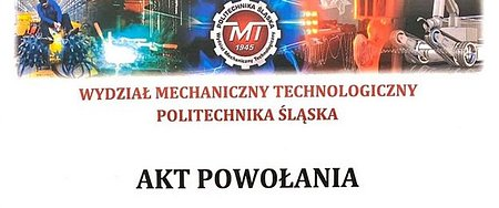 Prezes APA Group w Radzie Dziekańskiej WMT Politechniki Śląskiej