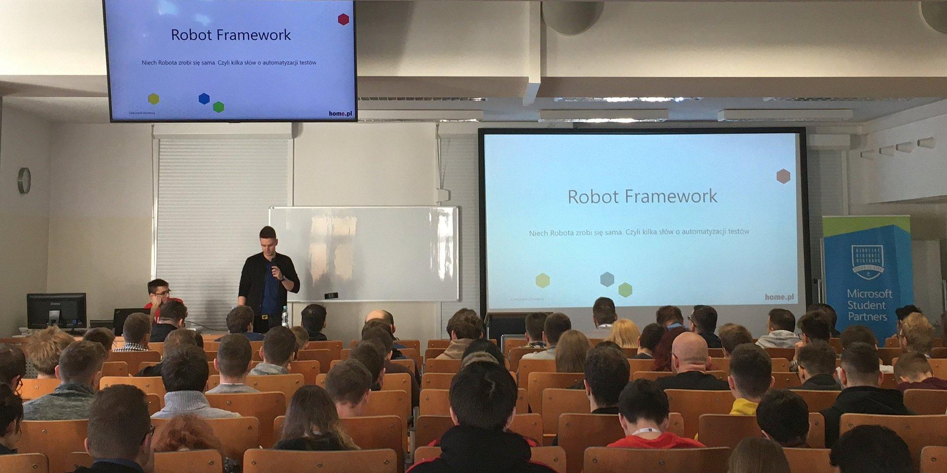 Robot Framework na IT Academic Day