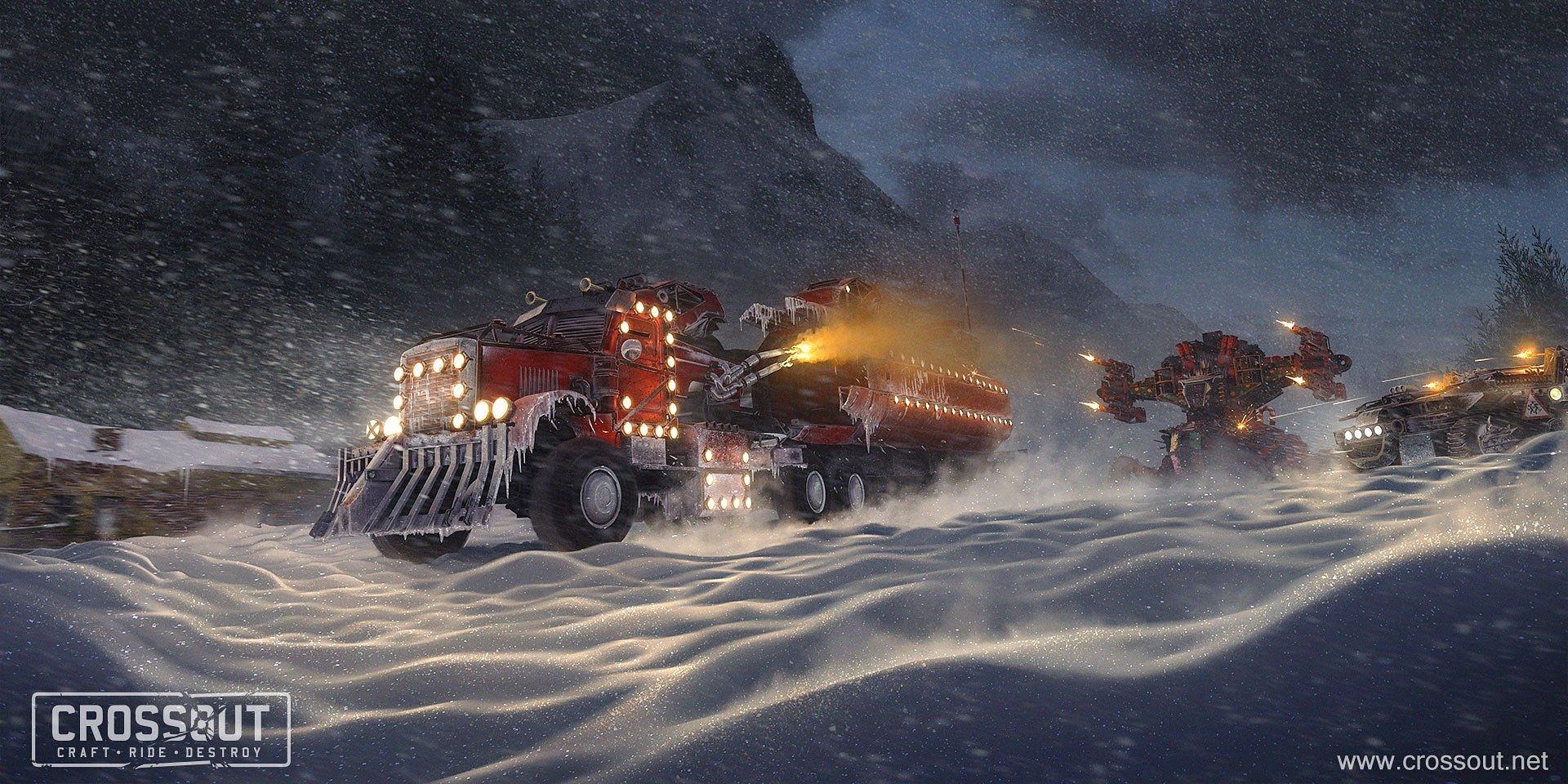 Crossout slaví vánoce s dárky, událostí a novým obsahem Svět!