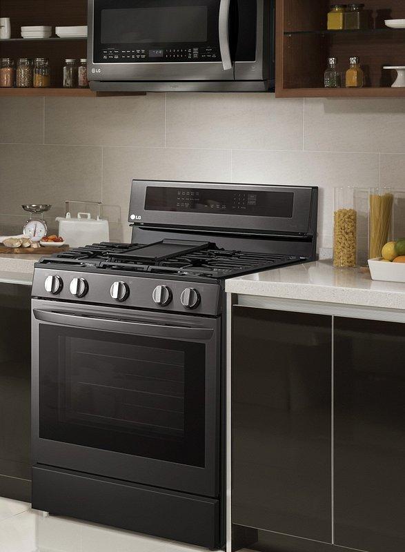CES 2020: Innowacje w kuchni od LG - nowa linia kuchni elektrycznych i gazowo- elektrycznych