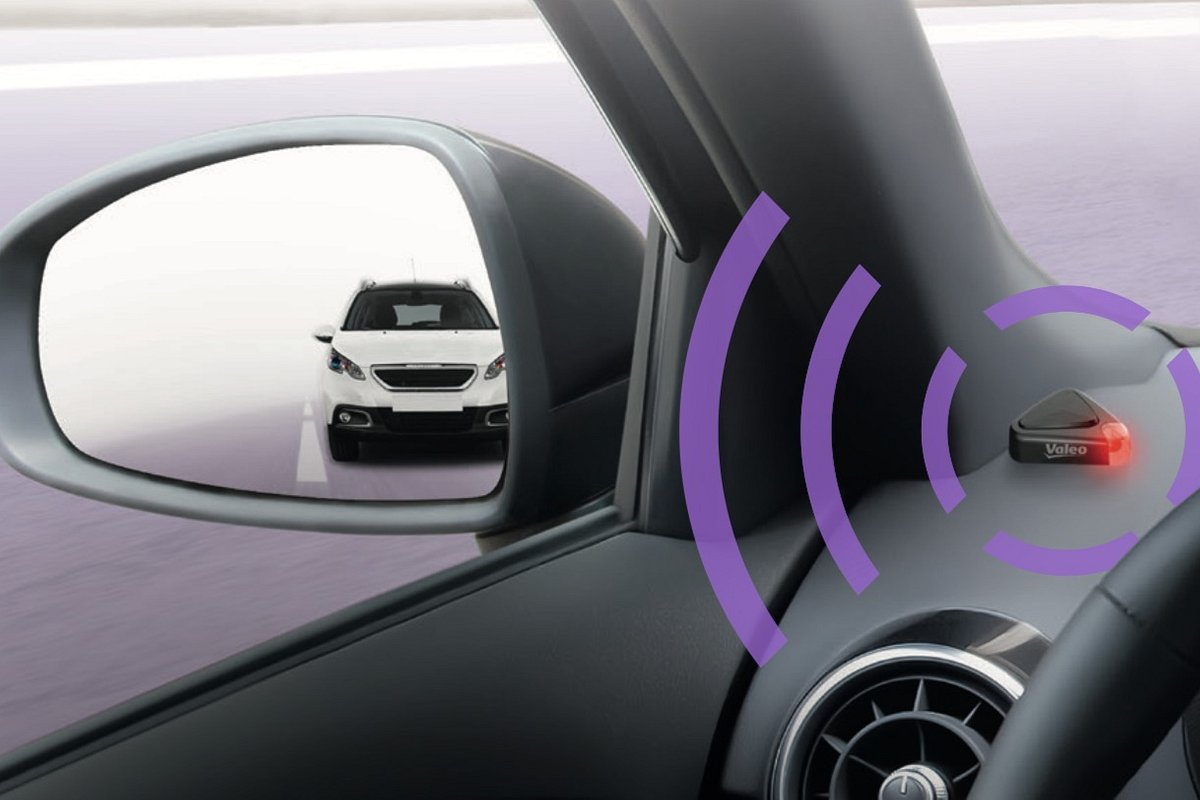 Valeo Safe Side – the blind spot detection system