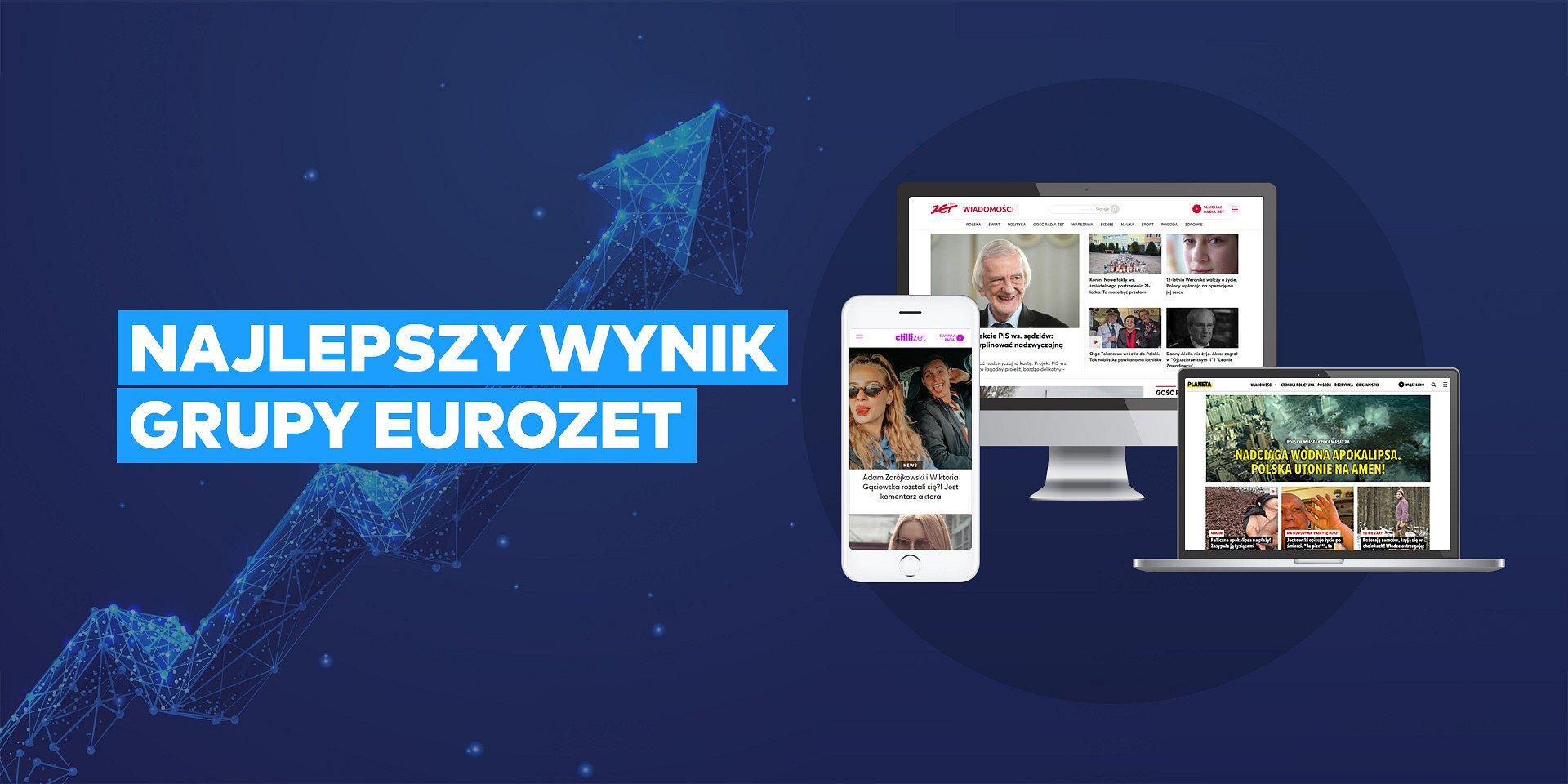 Ponad 10 mln RU serwisów Grupy Eurozet!