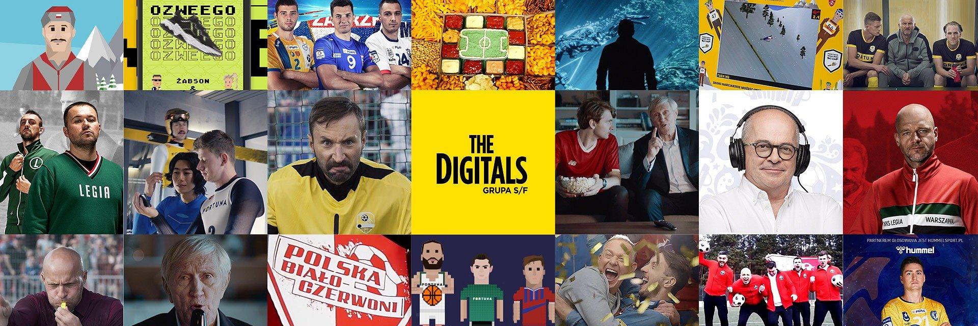 The Digitals (Grupa S/F) powiększa portfolio obsługi marek sportowych.