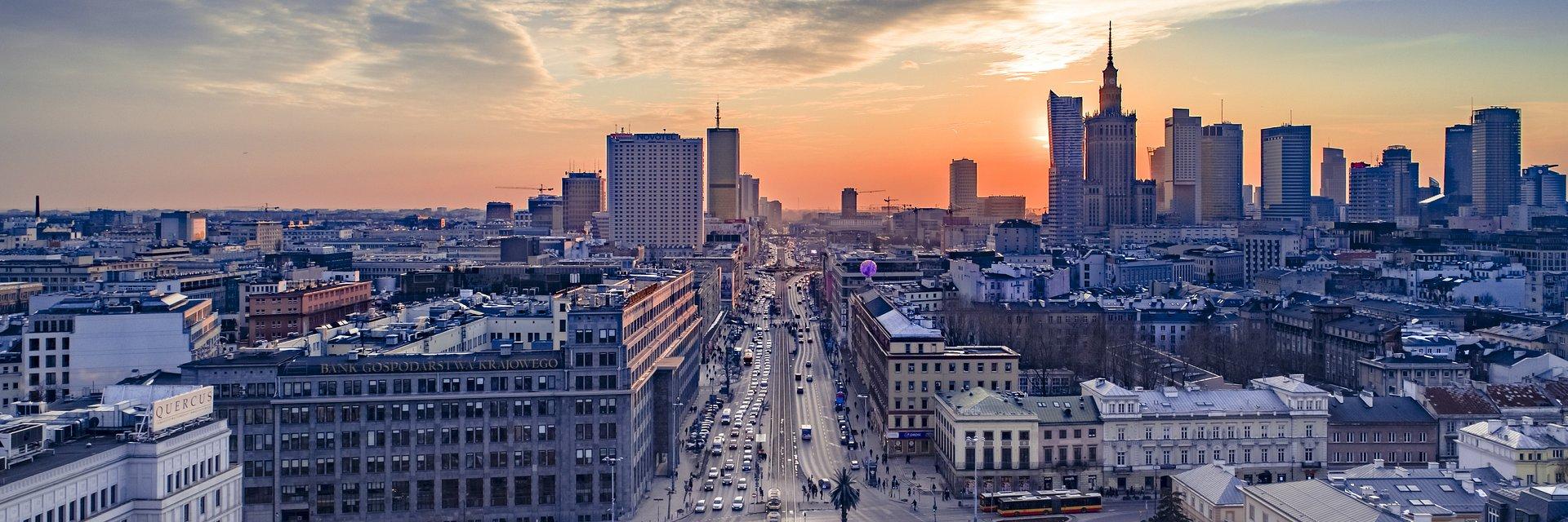 Rynek biur w Warszawie kwitnie