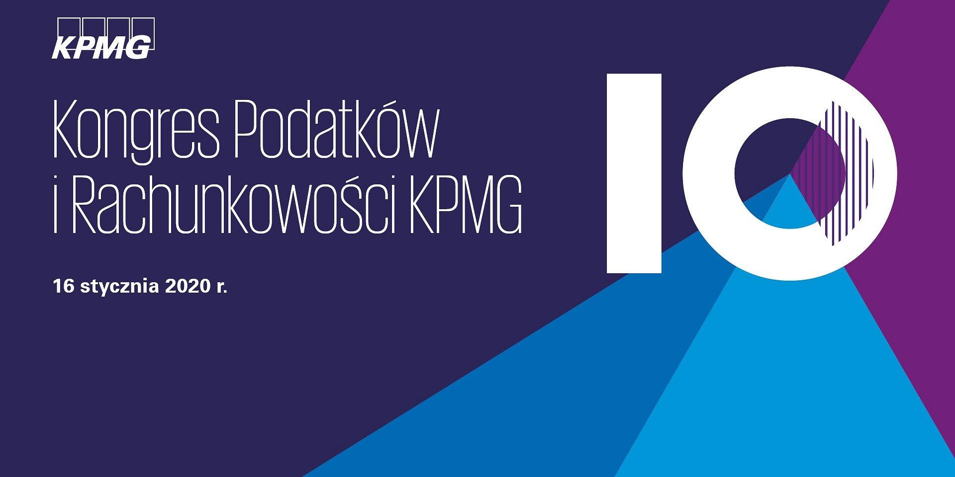 ACCA Patronem X Kongresu Podatków i Rachunkowości KPMG