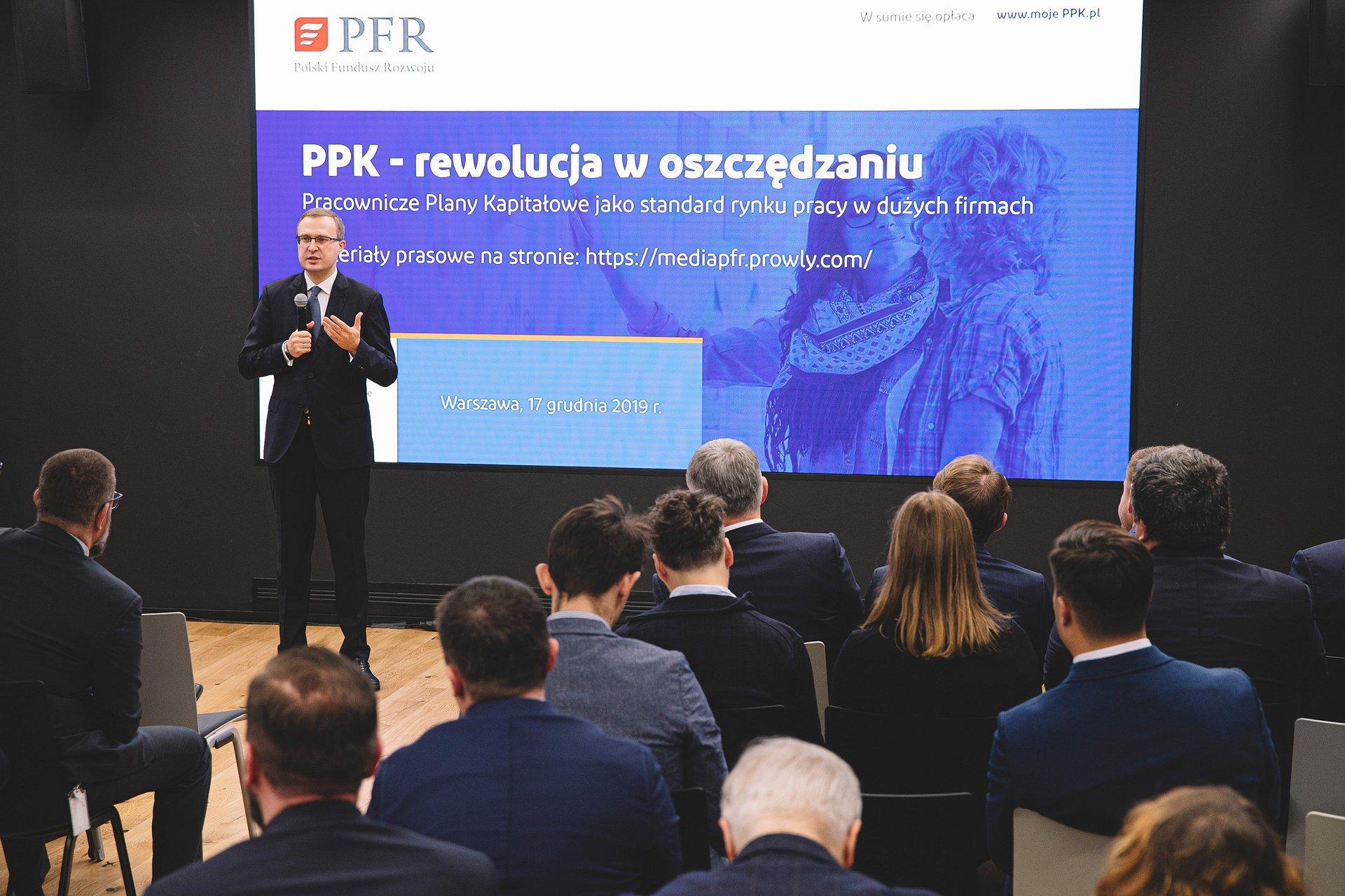 Programy emerytalne standardem w dużych firmach - ponad 1,5 mln uczestników PPK i PPE
