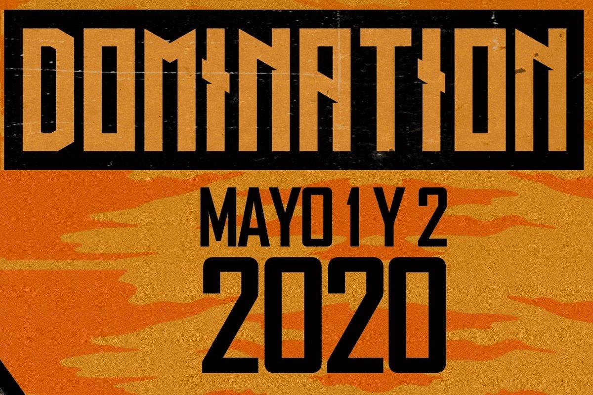 DOMINATION ANUNCIA SU CARTEL 2020