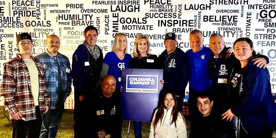 COLDWELL BANKER EXECUTIVES RAISED $38,164 FOR HOMELESS YOUTH BY SLEEPING ON THE STREET