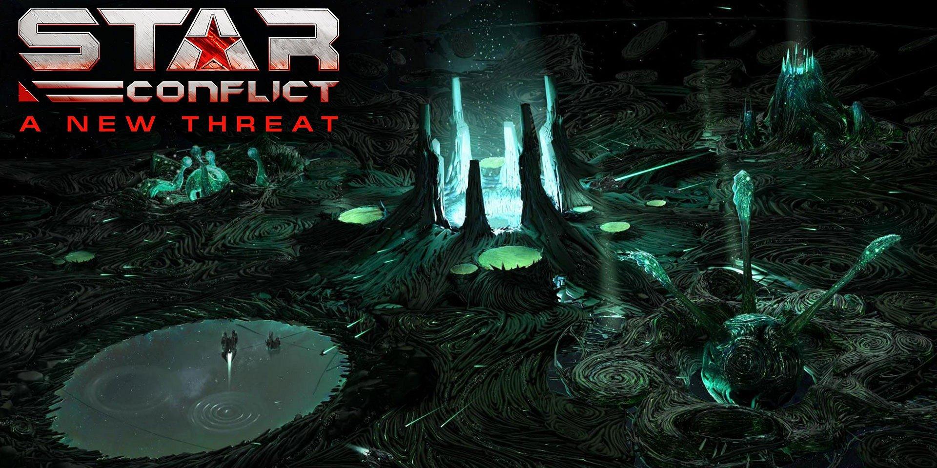 Piloti Star Conflict sa bránia proti invázii mimozemšťanov a oslavujú výročie Isaaca Asimova