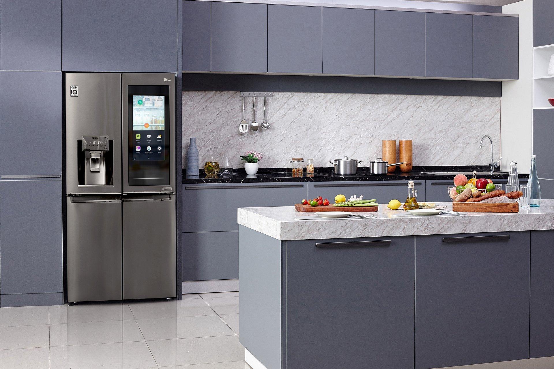 CES 2020: Prawdziwa kuchnia przyszłości od LG. Automatyczne informacje o zawartości lodówki