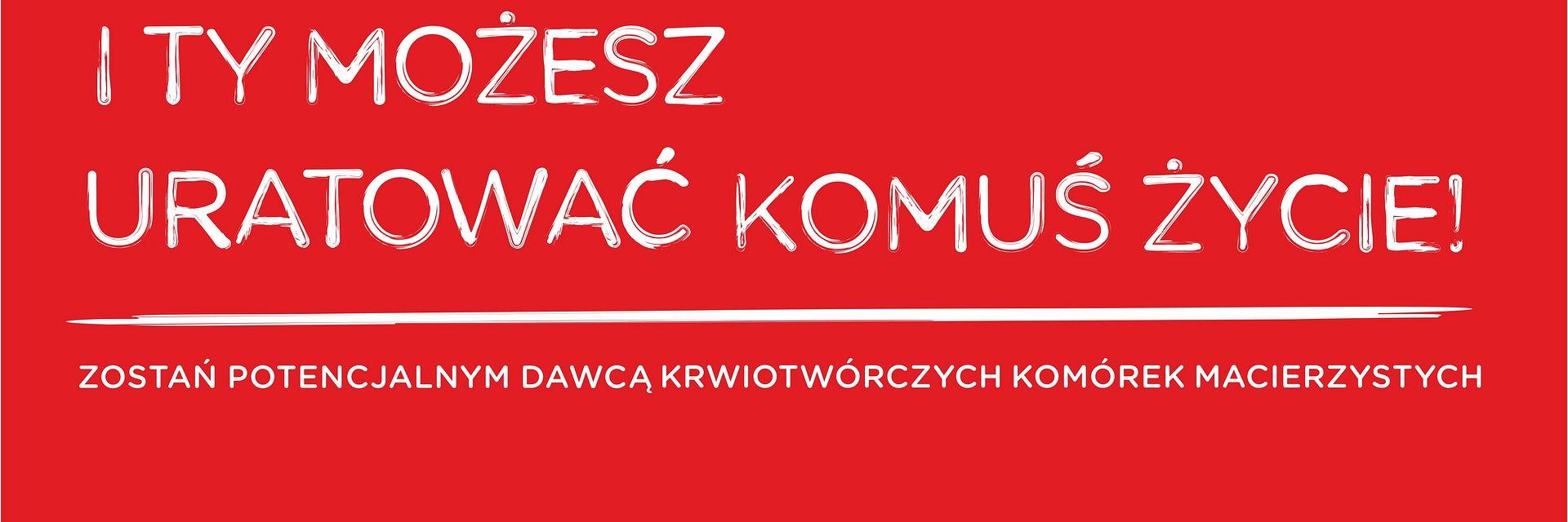 Rejestracja Dawców szpiku z Fundacją DKMS w Zielonych Arkadach