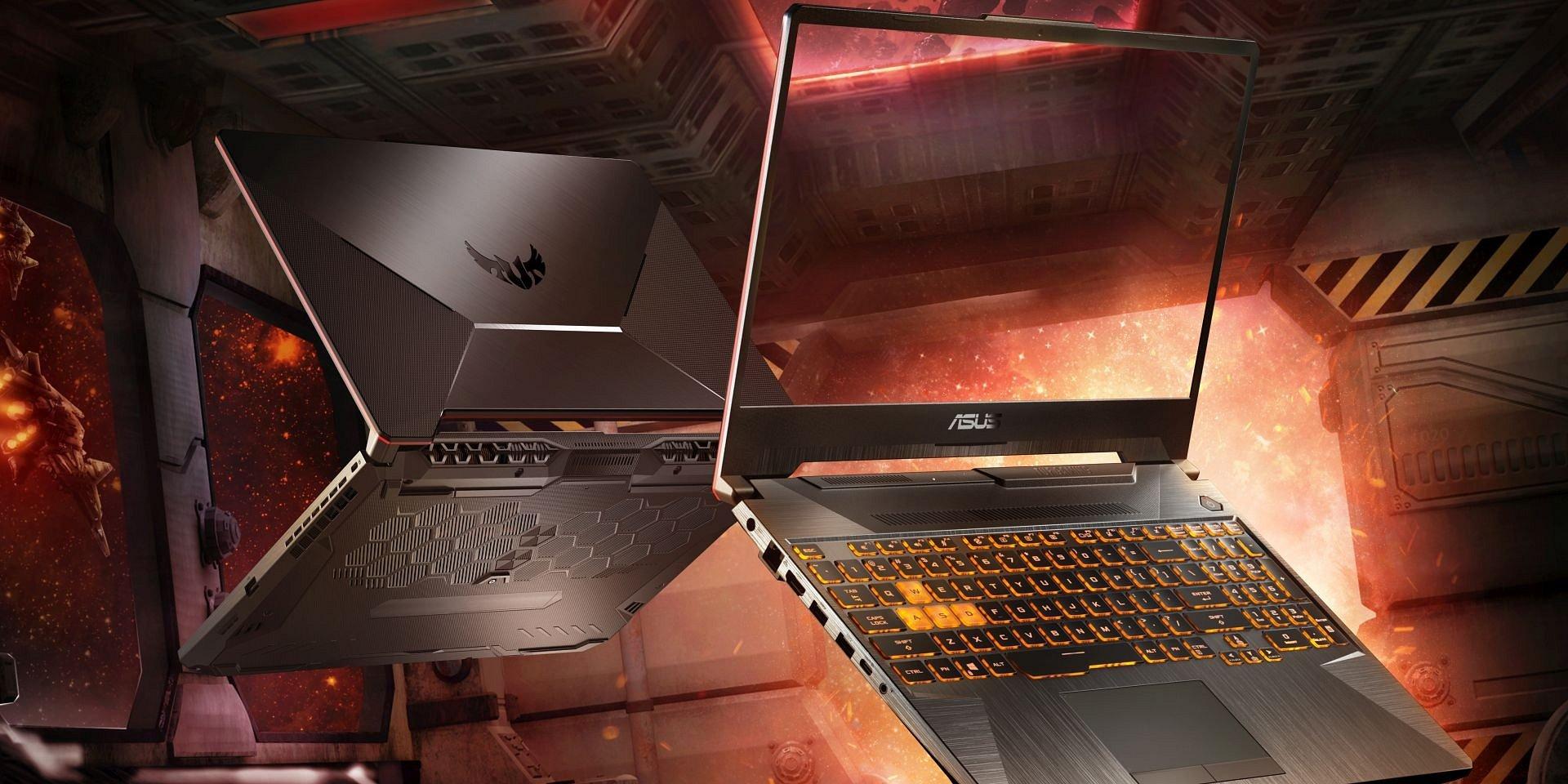 Nowe laptopy ASUS TUF Gaming zaprezentowane na targach CES 2020