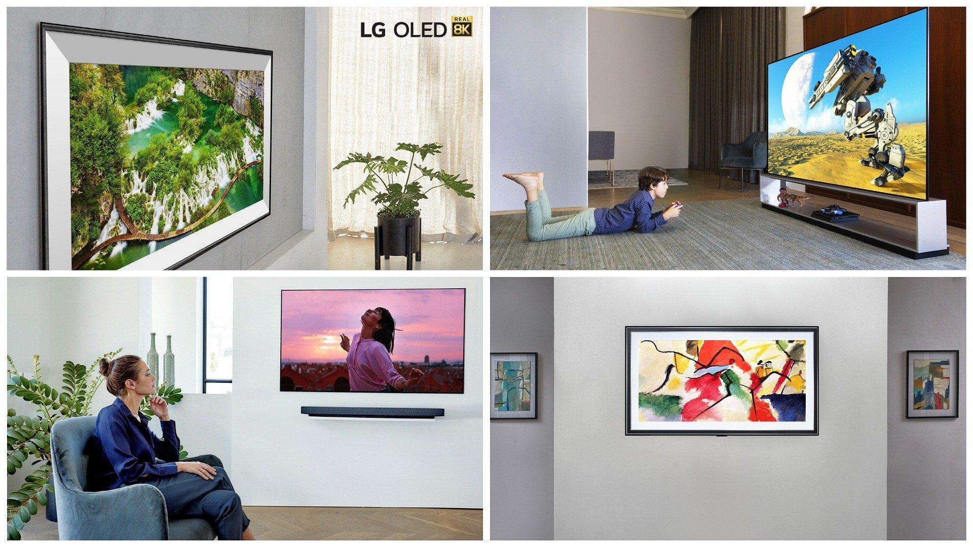 CES 2020: Telewizory LG OLED zapewniają nowy poziom realizmu wyświetlanego obrazu i spełniają marzenia twórców