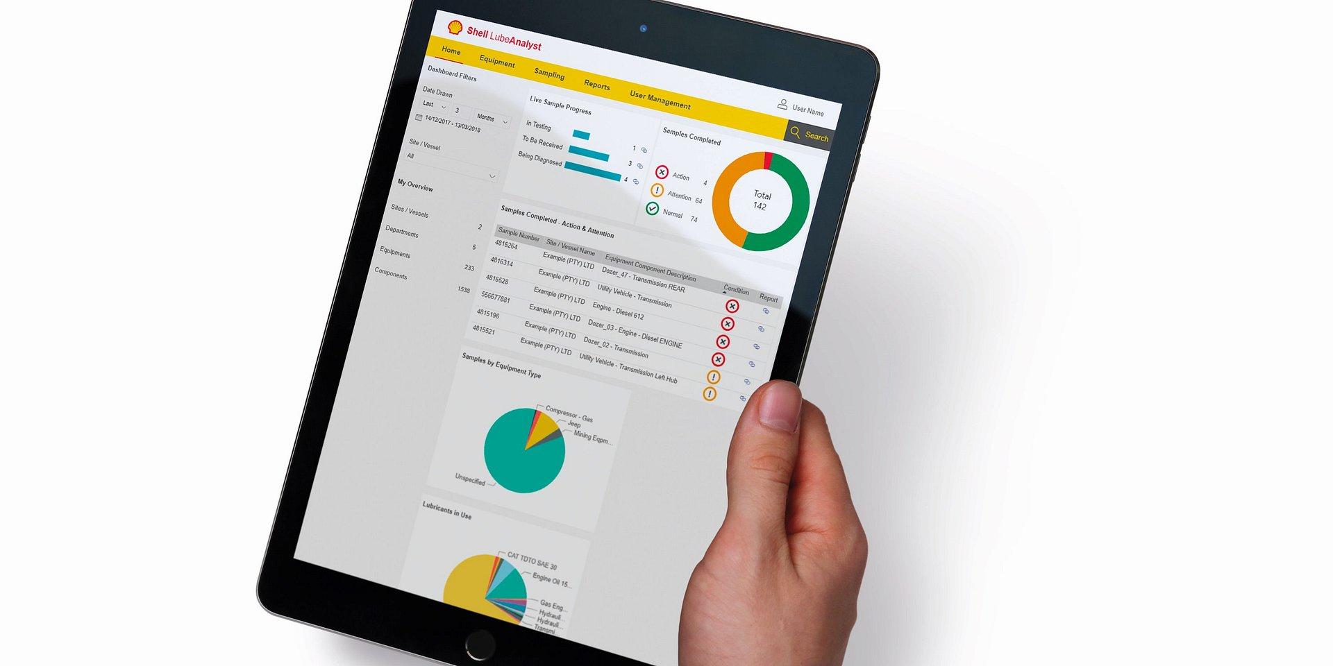 Nowa wersja platformy Shell LubeAnalyst już dostępna