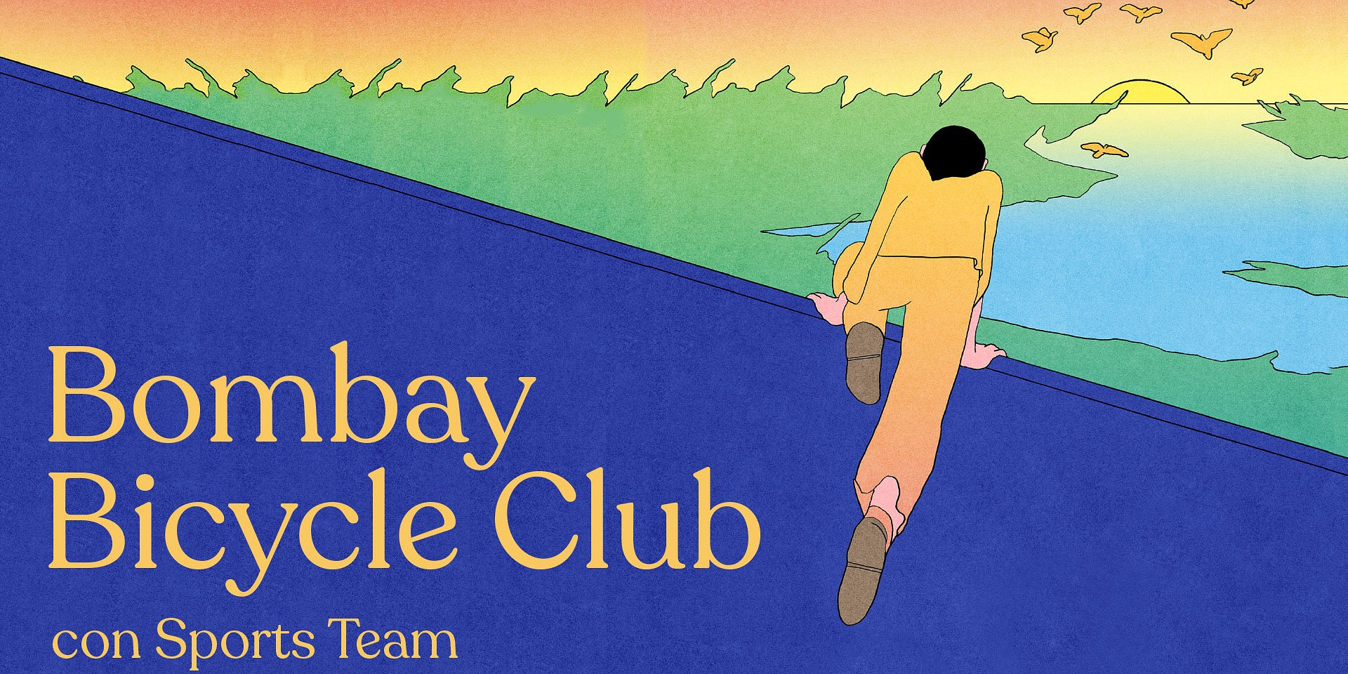 Bombay Bicycle Club llegará a México con Everything else has gone wrong