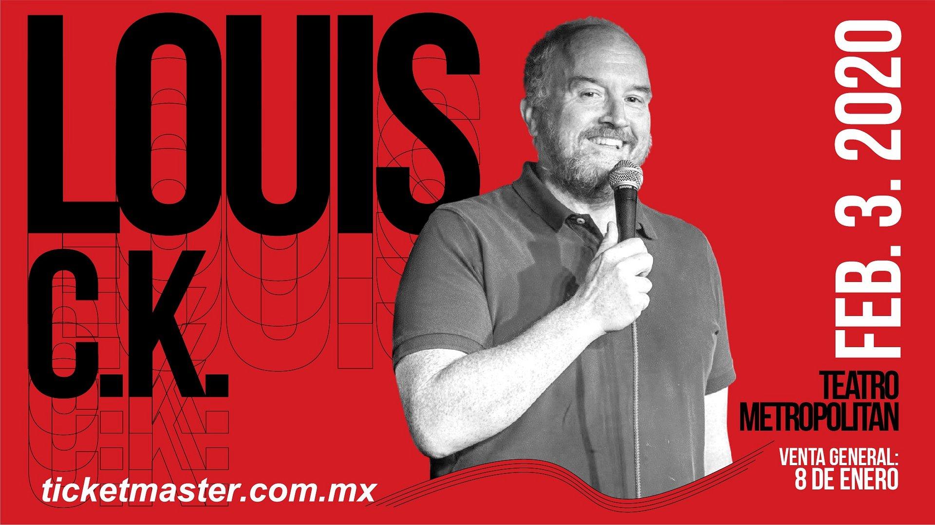 LOUIS C.K. EN VIVO EN LA CIUDAD DE MÉXICO Y MONTERREY