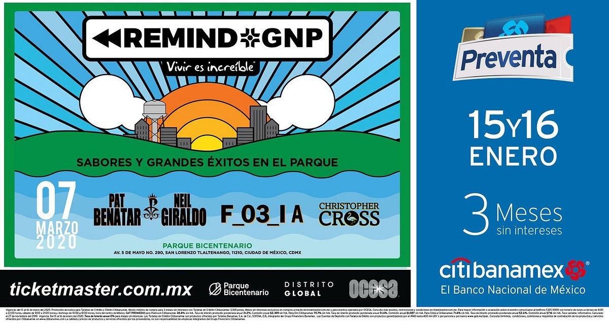 REMIND GNP: SABORES Y GRANDES ÉXITOS EN EL PARQUE