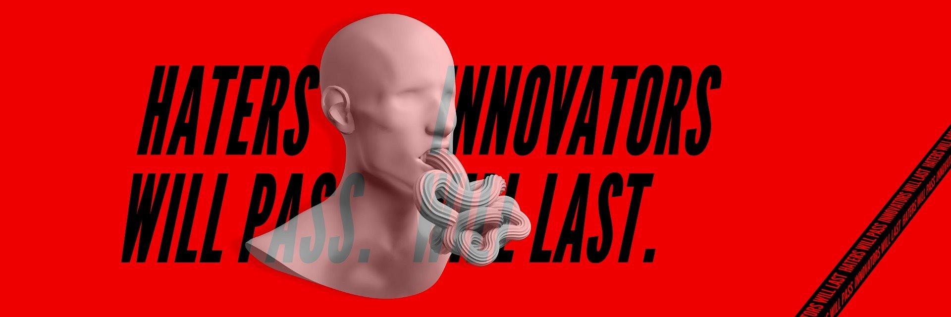 Nie daj się hejterom! Pokaż się w konkursie Innovation 2020.