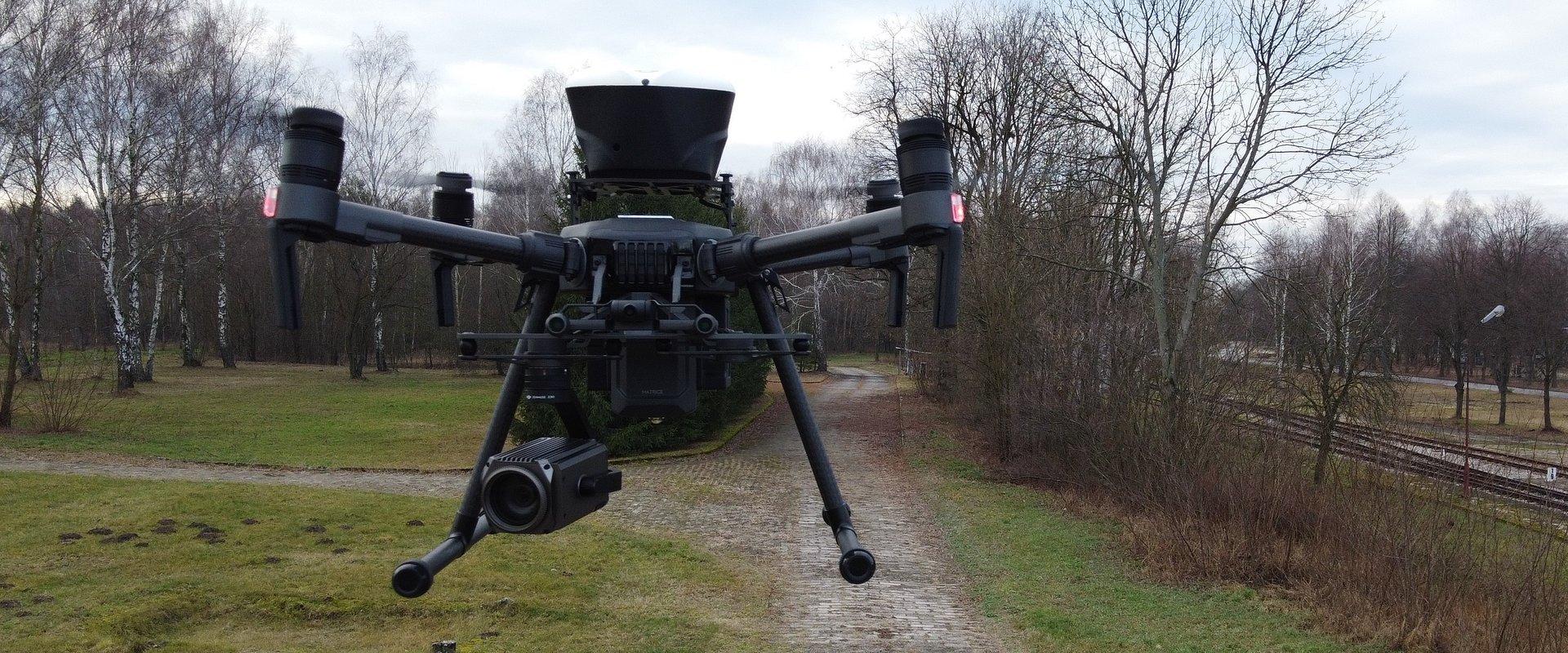 Drony pomogą PERN w monitoringu sieci