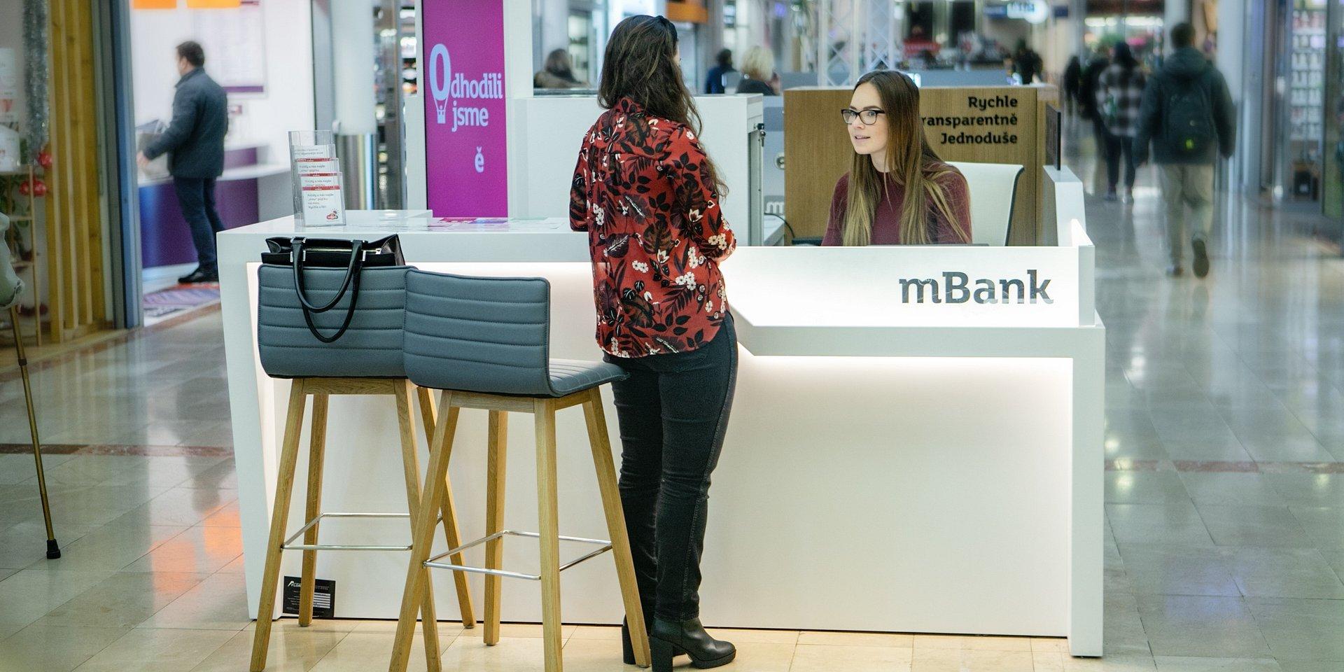 Blíž klientům. mBank rozšířila počet obchodních míst o dalších pět